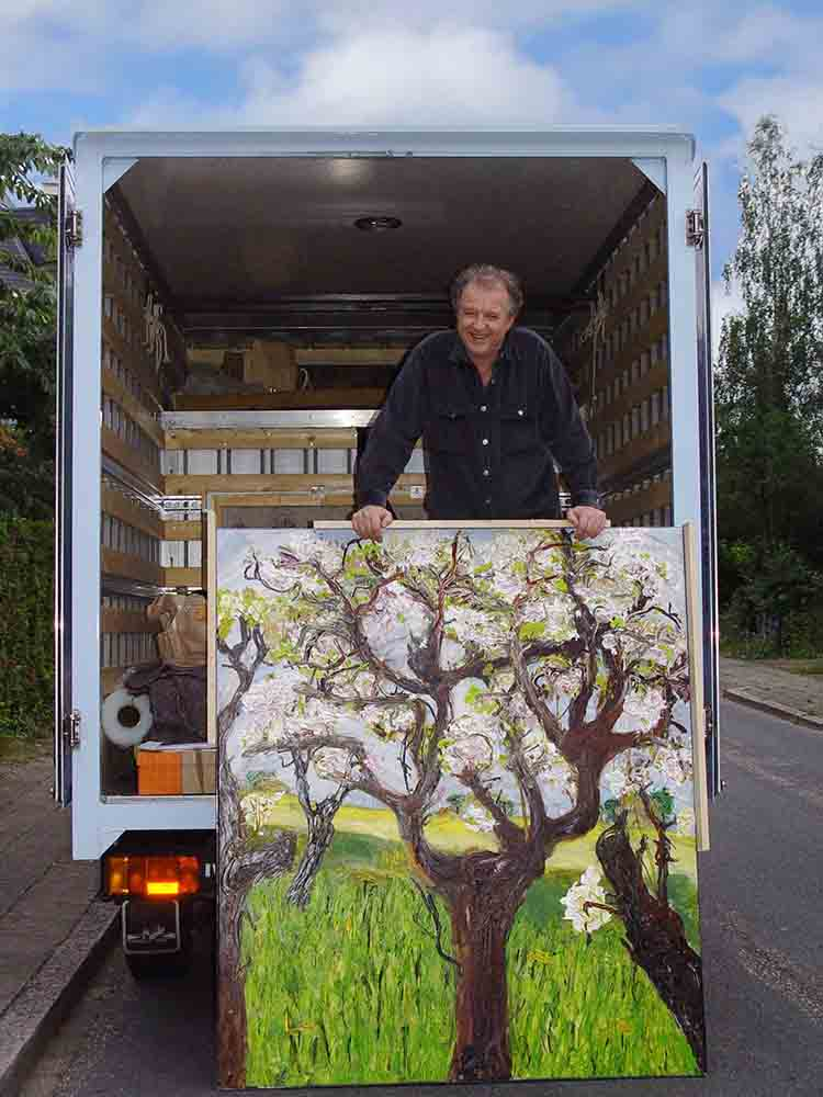 peter keizer auto transport oil paintings brengen